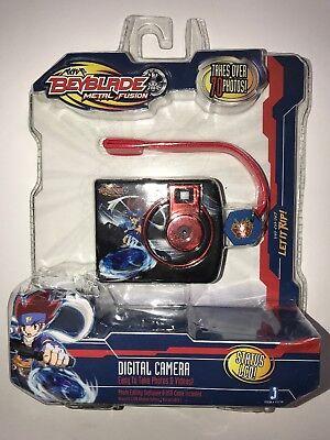 NEW Beyblade Metal Fusion Digital Camera w/ Storm Pegasus Charm 17110 Toys R Us