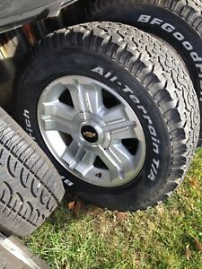 "18"" GM truck rims and tires"