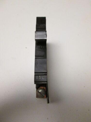 Square D XO115 Single Pole 120V 15 Amp Circuit Breaker Type XO