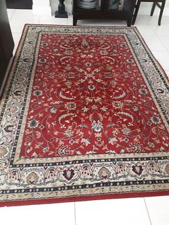 2x Persian rugs