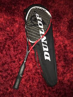Dunlop Squash Raquet Flux45 Braided Carbon