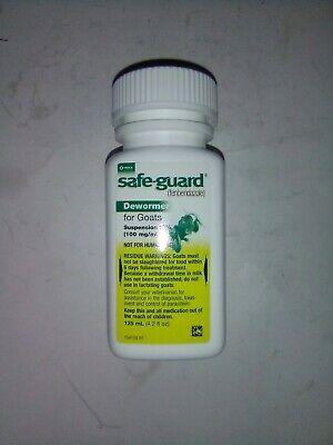 Merick Safeguard Goat Dewormer 125ml Fenbendazole Exp 2021 Free Shipping