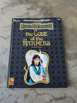 The Code of the Harpers AD&D Dungeons and Dragons Forgotten Realms FOR4 TSR 9390