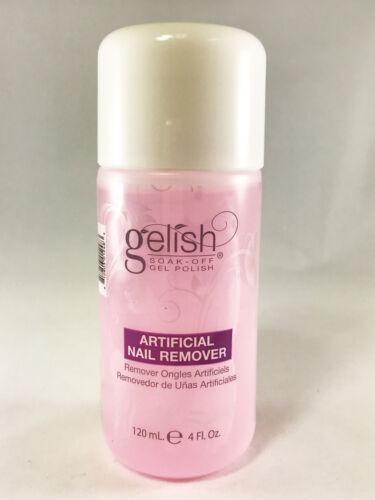 NEW Gelish Artificial Color Soak Off Gel Nail Polish Remover 120mL (4 fl oz)