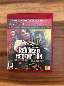 GTA V & Red Dead Redemption Game of the Year Edition for PS3