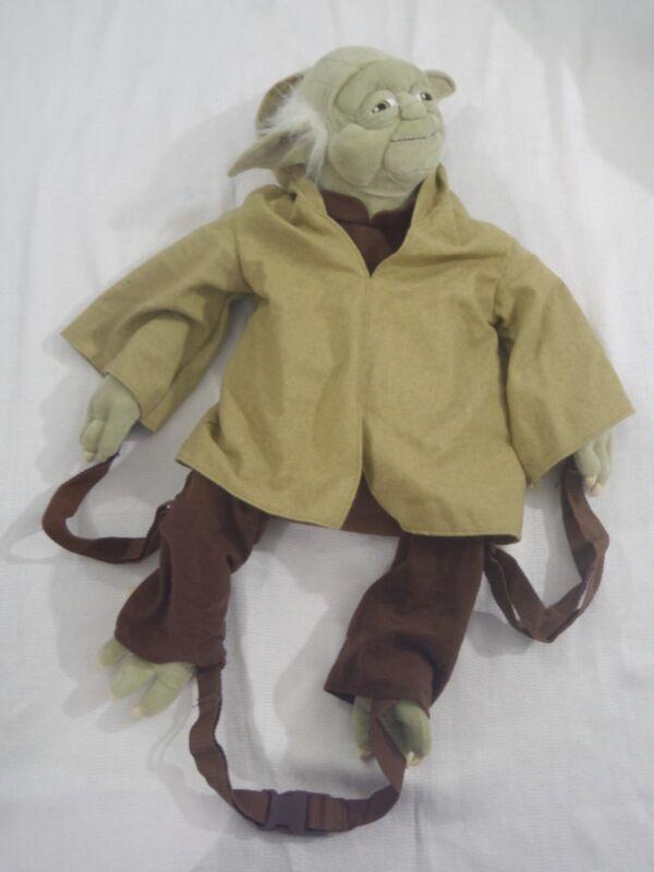 "Disney 2006 Disneyland Star Wars Episode III YODA 26"" Plush Character Backpack"