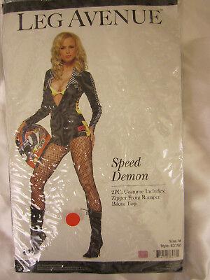 Leg Avenue Costume 83150 Sexy Speed Racer Demon Costume  several sizes  - Leg Avenue Racer Kostüm