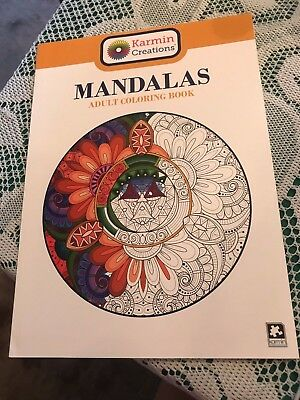 Mandalas: Adult Coloring Book by Karmin Creations 2 - Mandalas Coloring