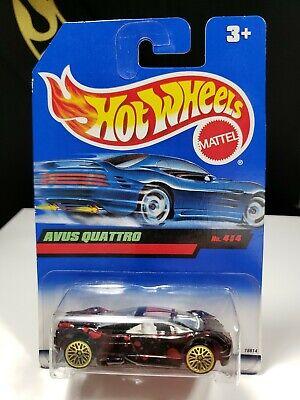 1997 HOT WHEELS AVUS QUATTRO TECH TONES (NON USA CARD) - P2