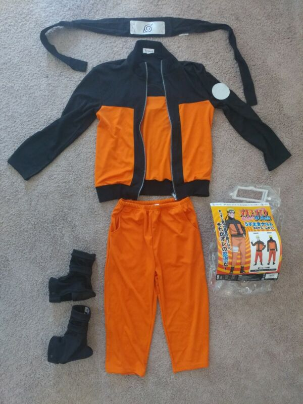 Naruto Costume From Japan *High Quality* Rare Anime Cosplay / Halloween Size Sm