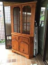 Stained Pine Corner Cabinet Ryde Ryde Area Preview