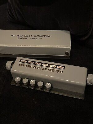 5 Key Blood Cell Counter Export Quality W Case