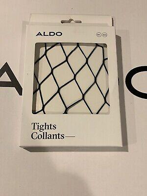 $12 ALDO COLLANTS FRAGNET BLACK NET MEDIUM LARGE M/L TIGHTS PANTYHOSE HOSIERY - Aldo Halloween