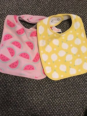 New Set Of 2 Fruit Bibs (Fruit Bib Set)