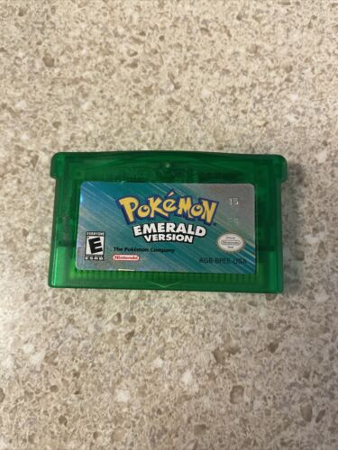 Pokemon Emerald Version Game Boy Advance, 2005 Authentic / Dry Battery TESTED - $149.99