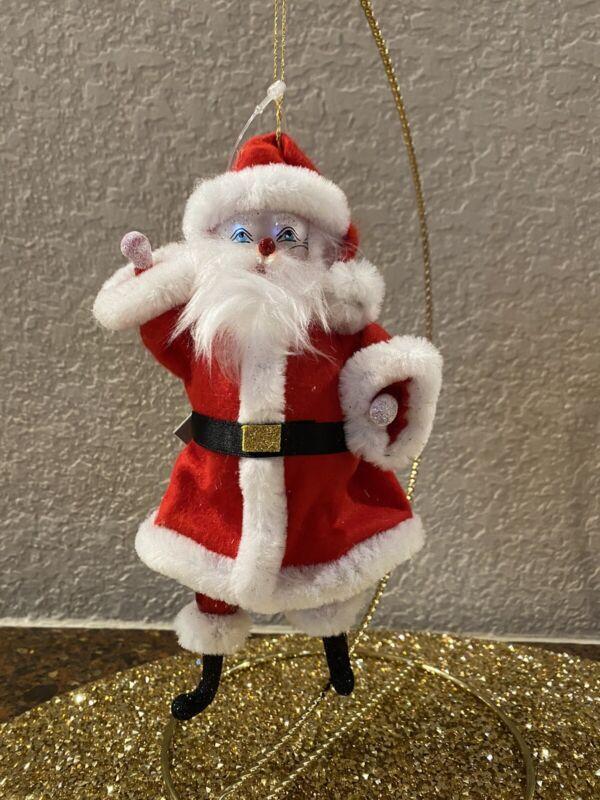 Soffieria De Carlini  Santa Claus Ornament Neiman Marcus Exclusive  NWT