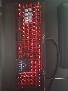 Logitech g502 2016 mouse and Corsair k70 RGB rapid fire