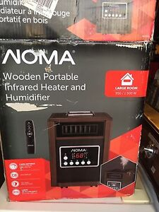 Room heater with humidifier