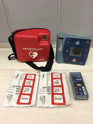 Philips Heartstart Defibrillator Fr2 W 2battery Case Working
