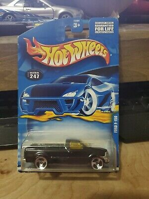 Hot wheels ford f-150 black