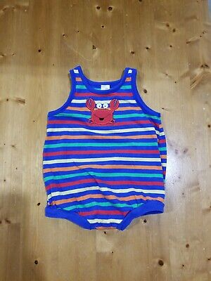 Healthtex Infant Boys Striped Lobster Outfit Size - Baby Lobster Outfit