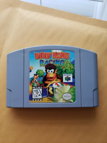 Diddy Kong Racing Nintendo 64, 1997 , Tested In Great Shape, Cartridge Only - $23.00