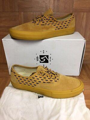 0544ea10f4cd91 RARE🔥 VANS Authentic S Wtaps Syndicate Mustard Yellow Low Top Sz 13 Men s  Shoes