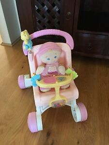 Fisher Price walker & Doll Butler Wanneroo Area Preview