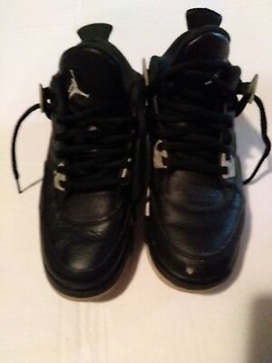 Boys air jordan retro 4 oreo gym shoes size 5 ok condition - Boys Retro