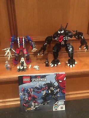 Lego Spider Mech vs Venom 76115