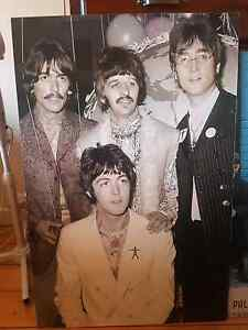 Very rare vintage Beatles poster (block mounted) Geelong Geelong City Preview
