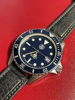 Tag Heuer 980.613B Professional Watch Blue Dial