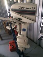 Johnson 7.5Hp Edgewater Joondalup Area Preview