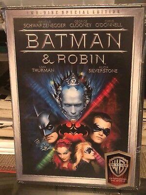 Batman And Robin (DVD) 2-Disc Set! Special Edition! Arnold Schwarzenegger, NEW!