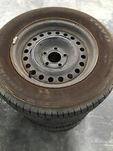 """Set of 15""""wheels 5x114.3pcd with good tyres! Mount Claremont Nedlands Area Preview"""