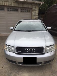 Audi A4 AWD With New Winter Tires - Best Offer