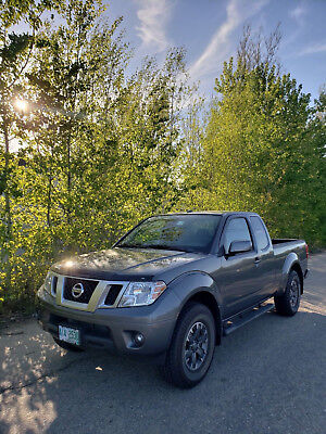 2017 Nissan Frontier PRO-4X 2017 Nissan King Cab PRO-4X Mint Condition Original Owner 2,400 miles