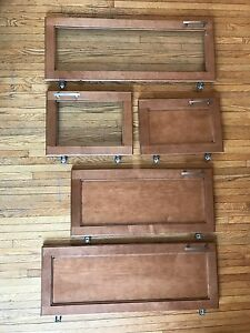 Kitchen  Cupboard Doors (Gently Used)