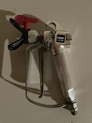 Titan Lx80 Spray Gun With 517 Tip Used Once