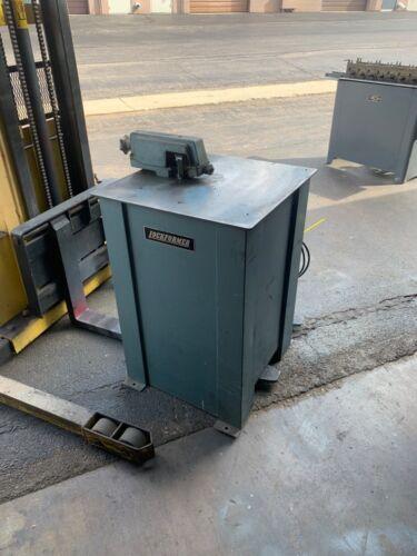 Used Lockformer 18 Gauge Stand Alone Power Flanger