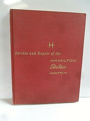 Clean Vintage Hamilton Electric Watch Service & Repair of the Book 1959 Edition