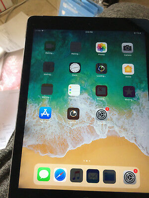 Apple iPad Air 2 16GB, Wi-Fi + Cellular (Unlocked), 9.7in - Space Gray READ