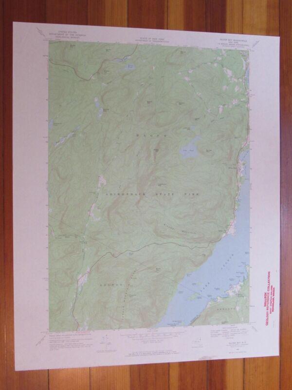 Silver Bay New York 1970 Original Vintage USGS Topo Map