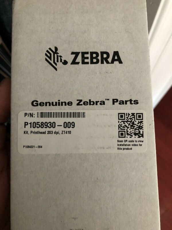 Original  Printhead for Zebra ZT410 Thermal Label Printer 203dpi P1058930-009