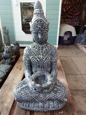 Buddha Stone Statue Garden Ornament - Large