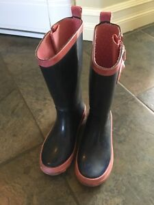 Girls size 13 Joe Fresh rubber boots