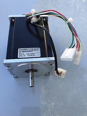 Emoteq Brushless Dc Motor Qb03402-b06-he 40v Encoder