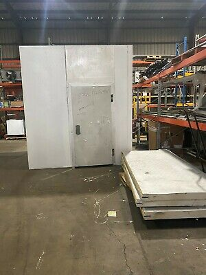 Used Walk-in Cooler 89wx 84lx 911h W New 0.75hp Refrigeration