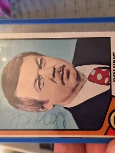 Don Cherry OPC Rookie Hockey Card Signed