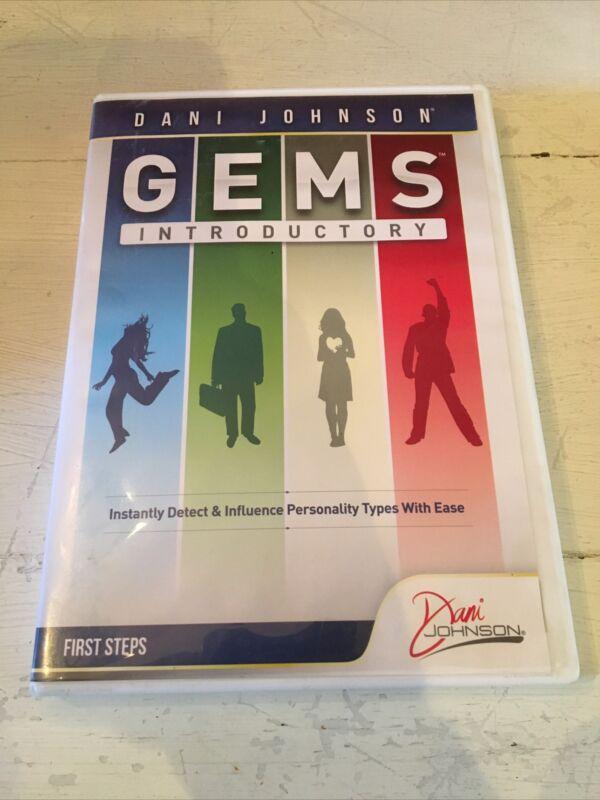 Dani Johnson Gems Introductory - First Steps: CD DVD 1 Data Disc Set!